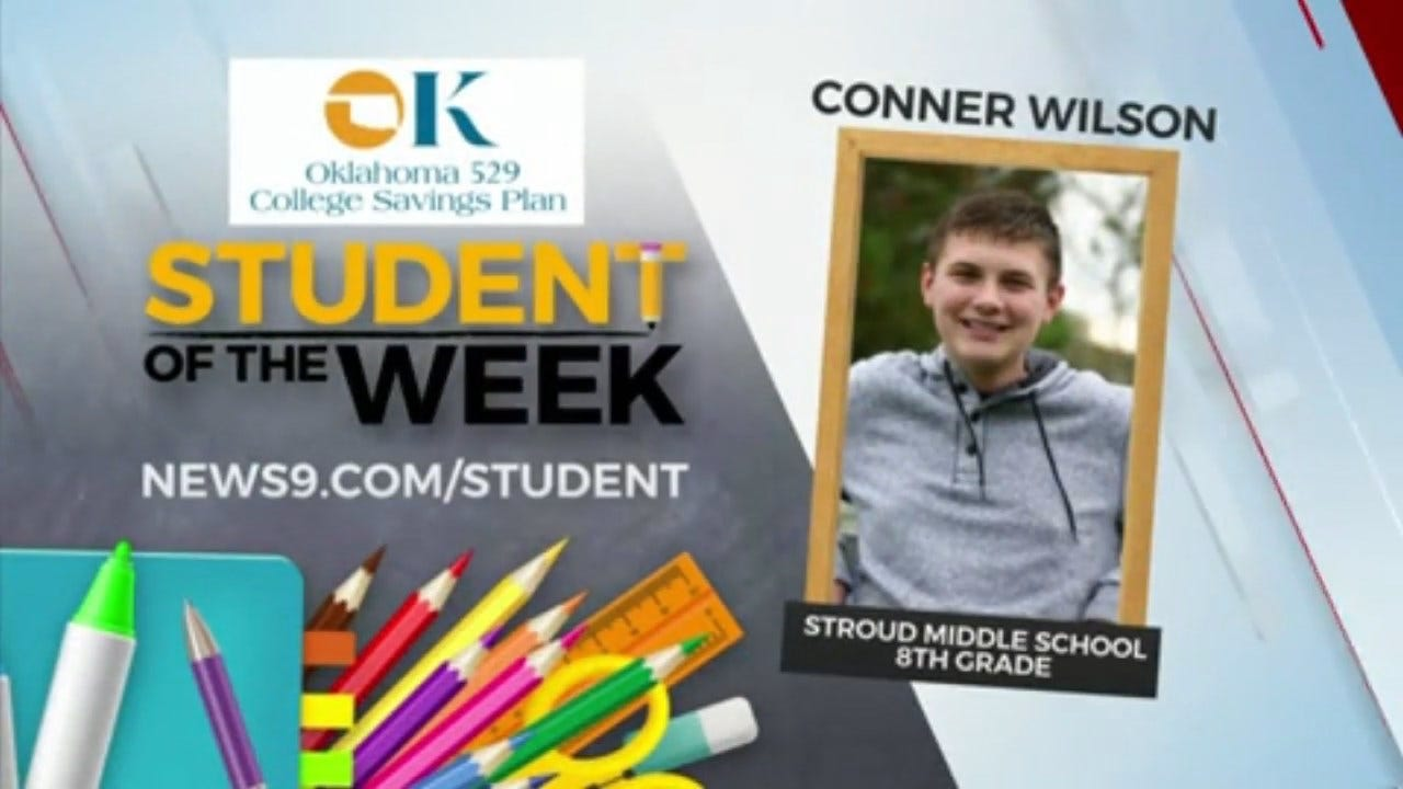 Student of the Week: Conner Wilson