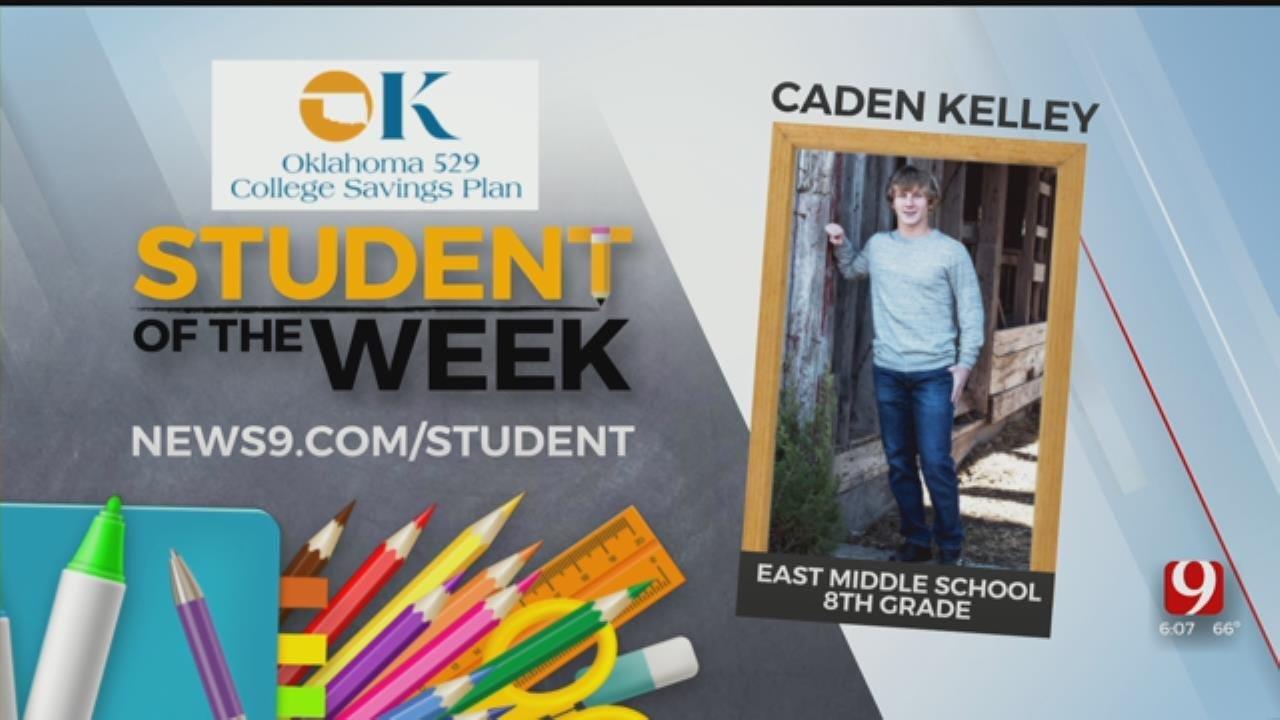 Student of the Week: Caden Kelley