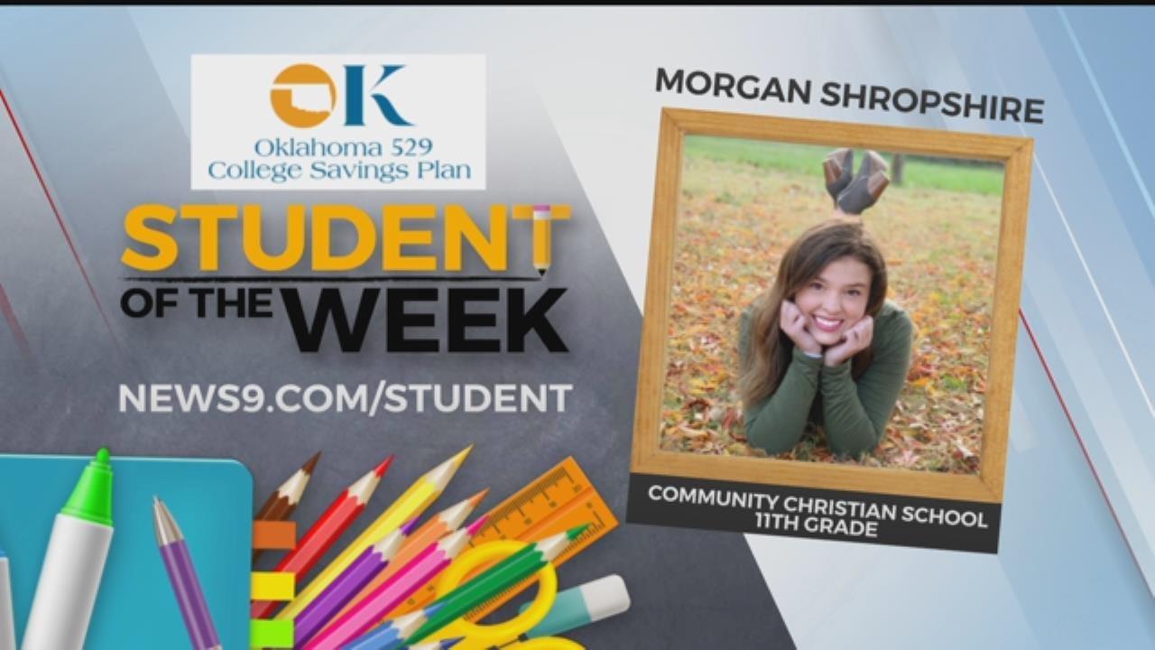 Student Of The Week: Morgan Shropshire