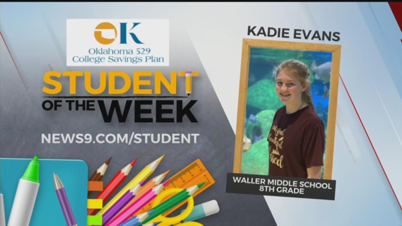 Student Of The Week: Kadie Evans