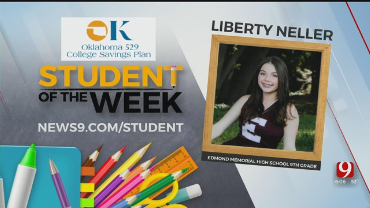Student Of The Week: Liberty Neller from Edmond Memorial