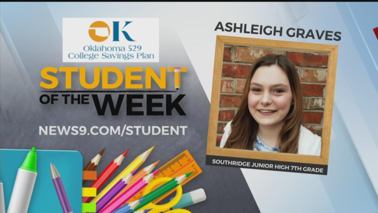 Student Of The Week: Ashleigh Graves
