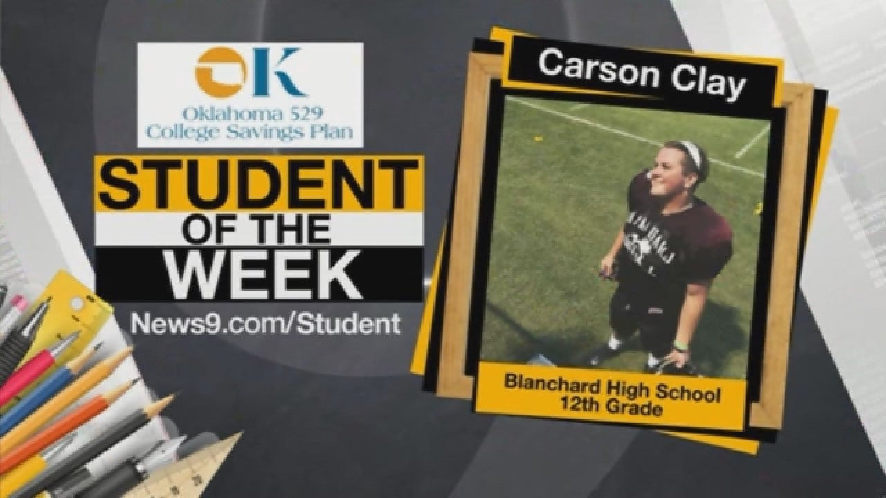 Student Of The Week: Carson Clay From Blanchard High School