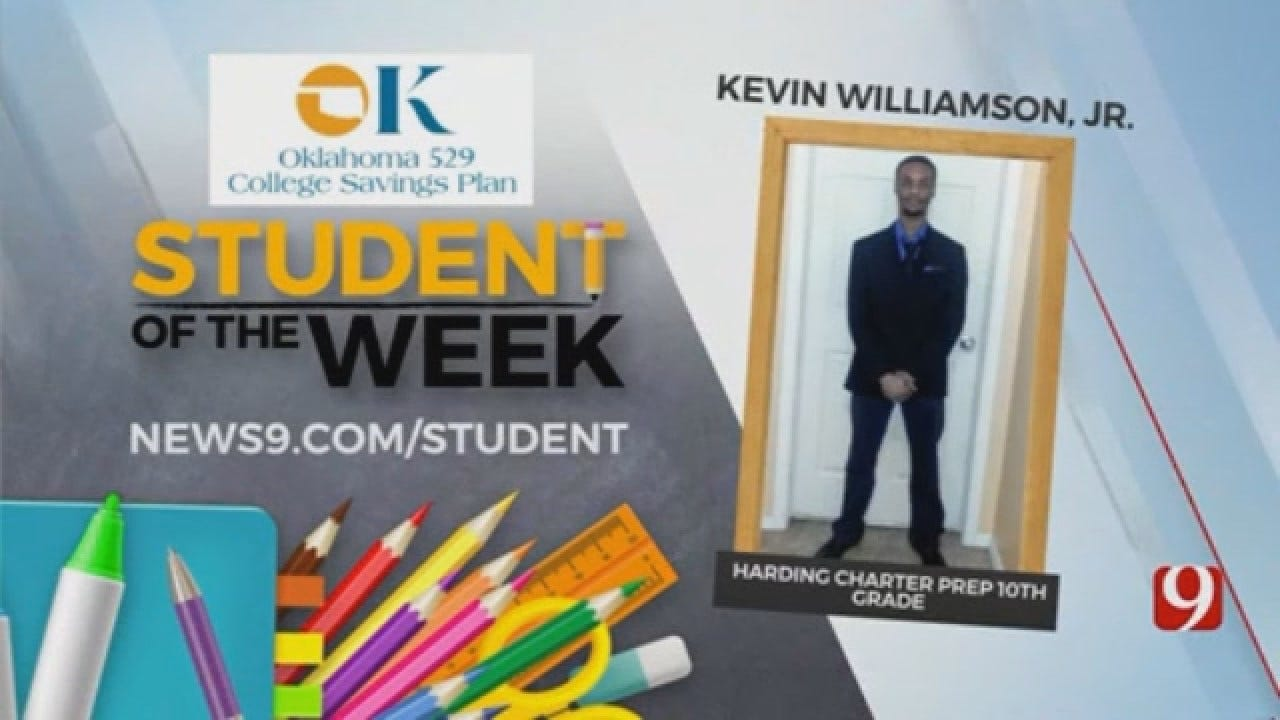 Student Of The Week: Kevin Williamson Jr. From Harding Charter Prep