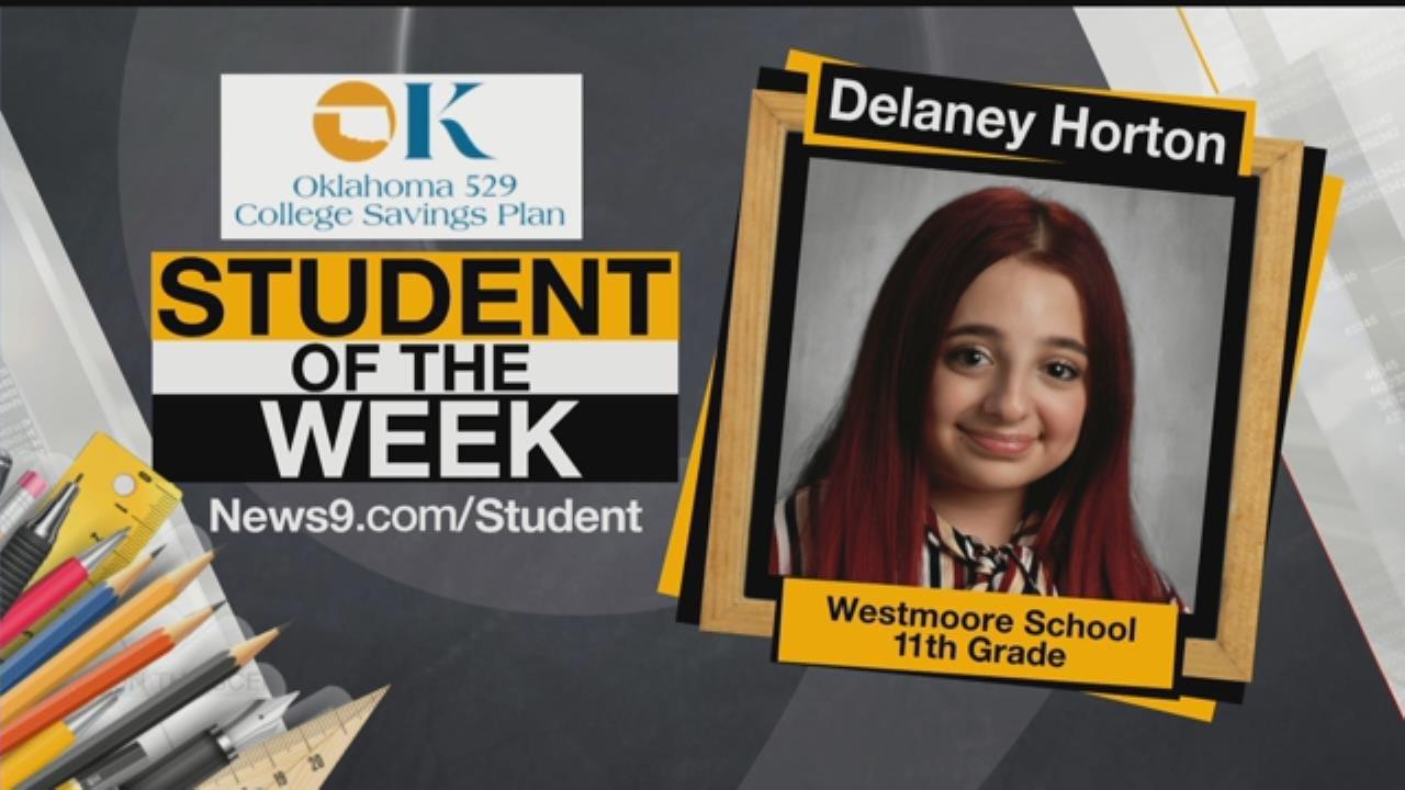 Student Of The Week: Westmoore High School's Delaney Horton