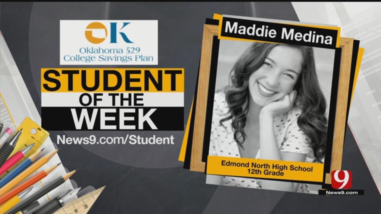 Student Of The Week: Maddie Medina From Edmond North High School