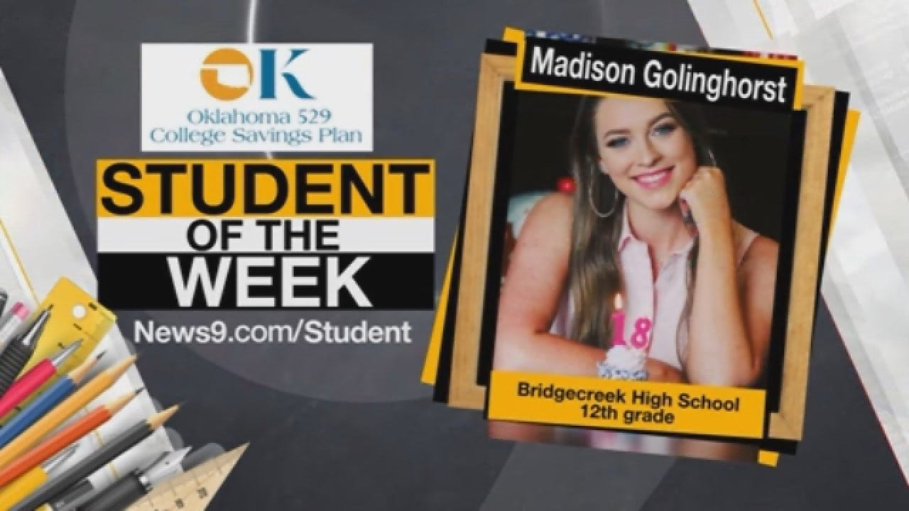 Student Of The Week: Madison Golinghorst From Bridge Creek High School