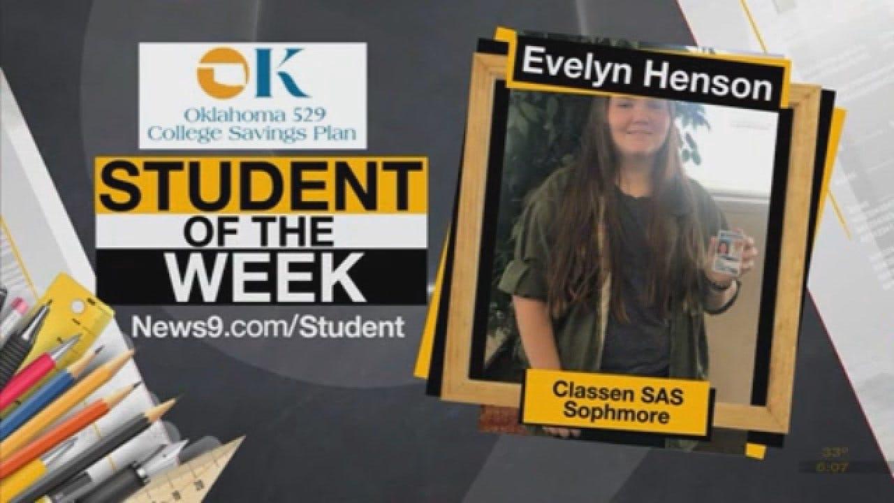 Student Of The Week: Evelyn Henson, Classen SAS (Oklahoma City)
