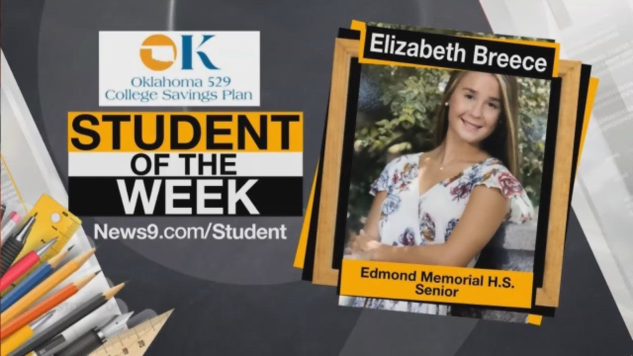 Student Of The Week: Elizabeth Breece From Edmond Public Schools