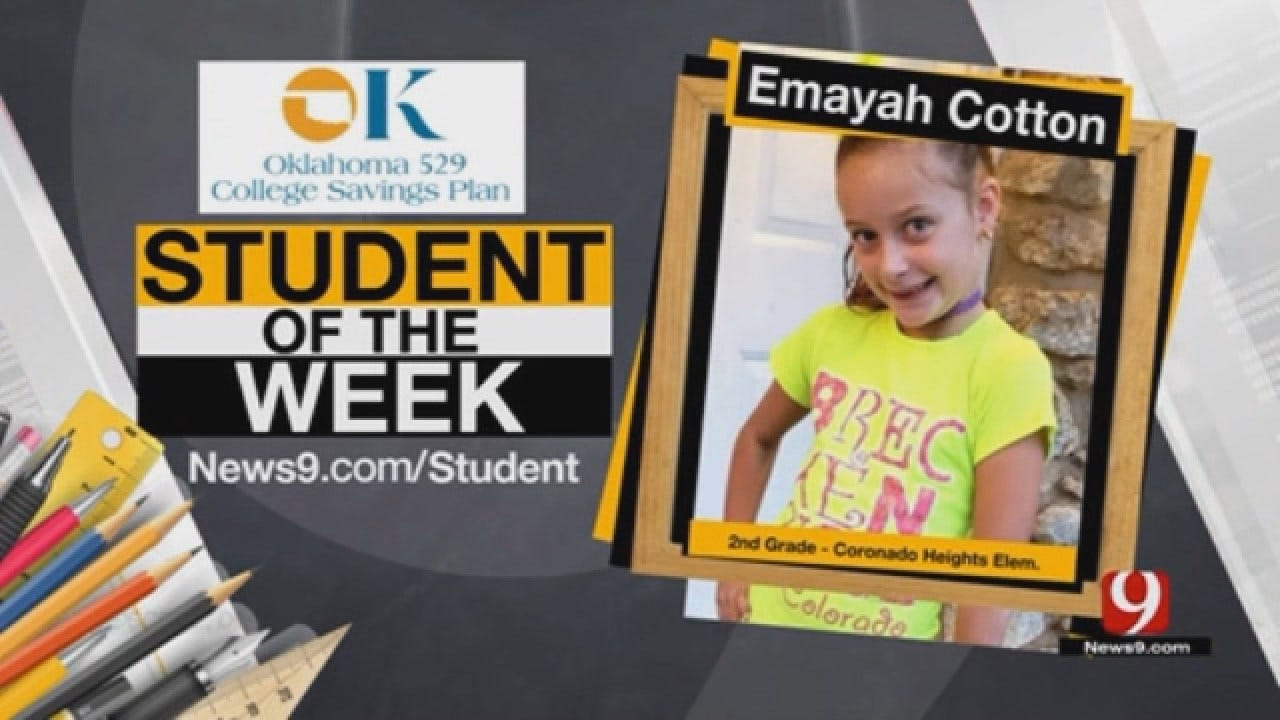 Student Of The Week: Emayah Cotton From Putnam City Schools