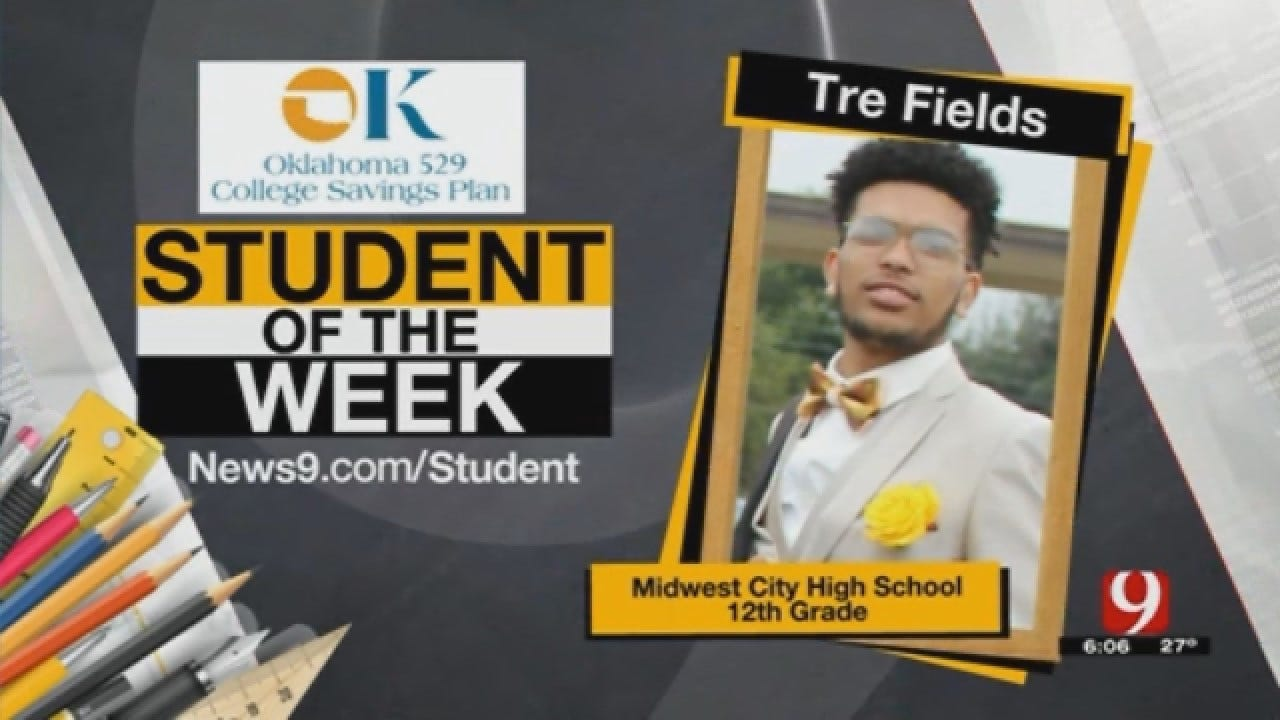 Student Of The Week: Tre Fields From Midwest City High School