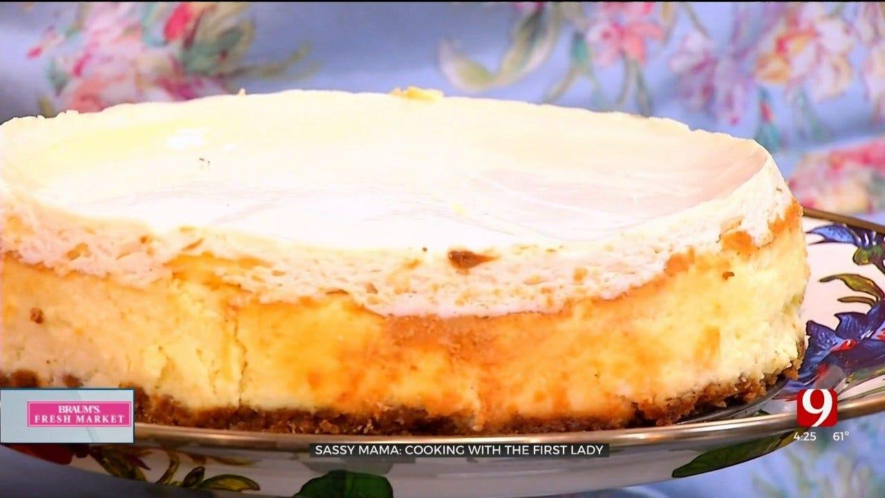 Gov. Stitt's Favorite Cheesecake