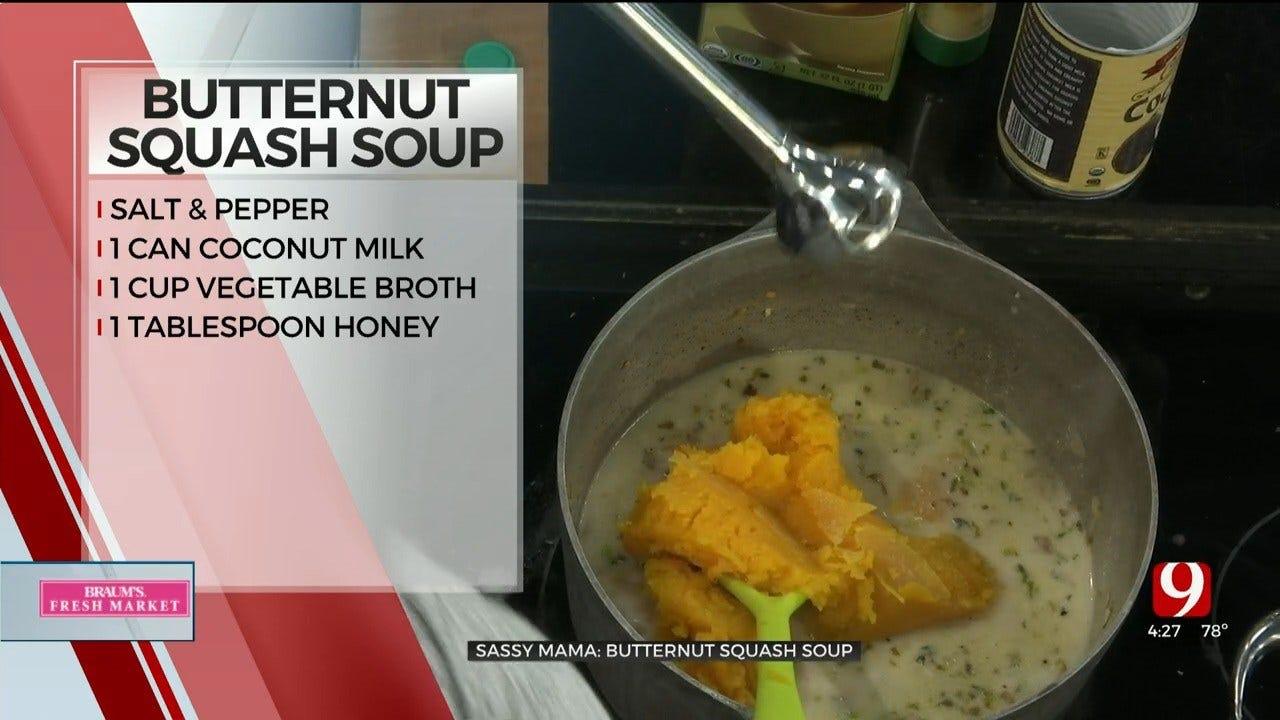 Fresh Butternut Squash Soup