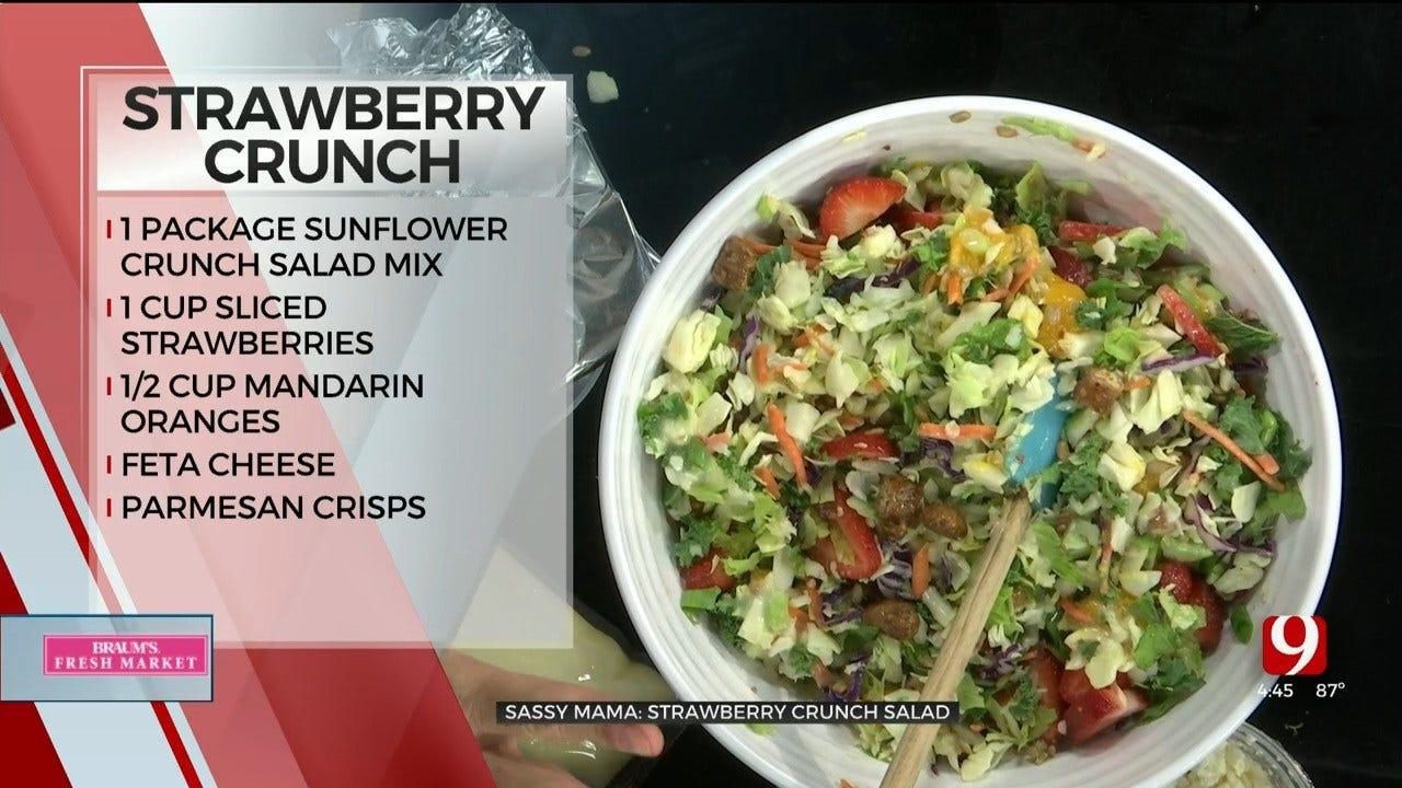 Strawberry Crunch Salad