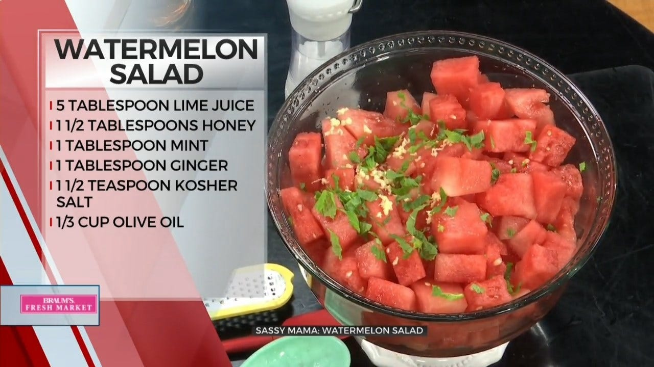 Sassy Mama: Watermelon Salad