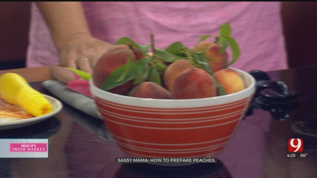 Sassy Mama: How To Prepare Peaches