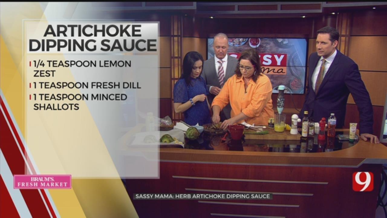Herb Artichoke Dipping Sauce
