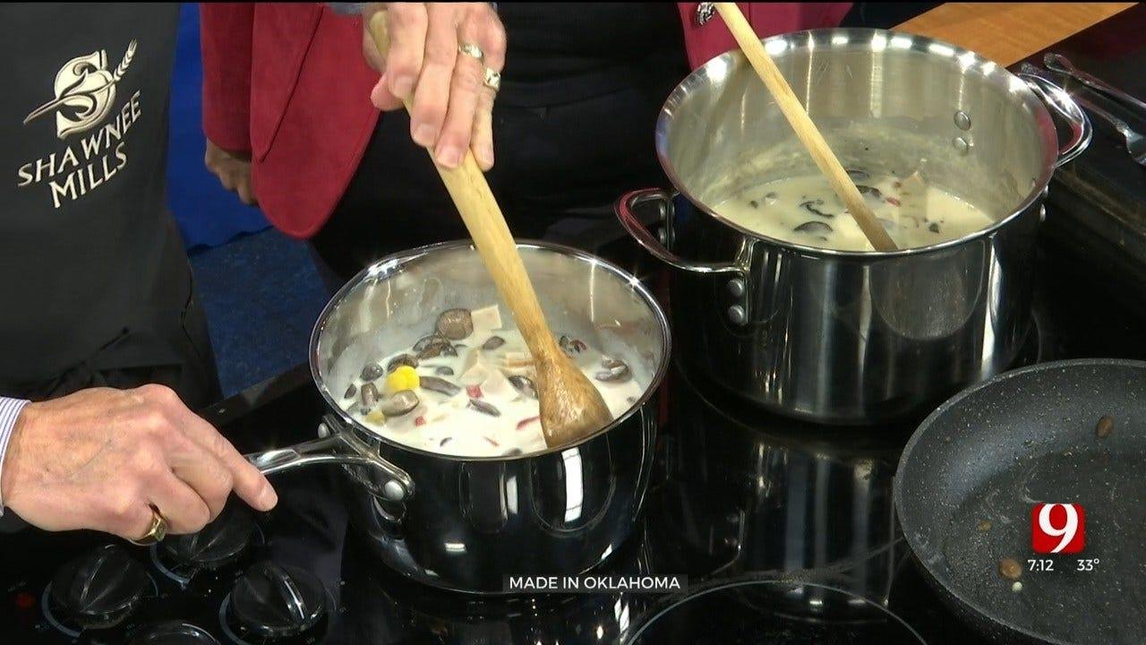 Made In Oklahoma: Chicken-Mushroom-Pepper Soup