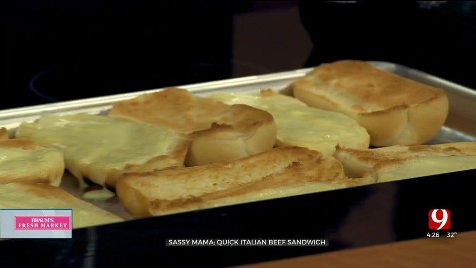 Quick Italian Beef Sandwich