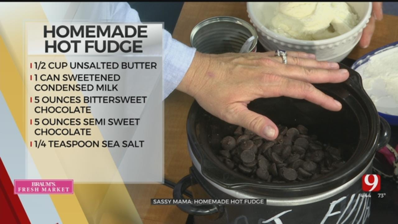 Slow Cooker Style Homemade Hot Fudge Sauce