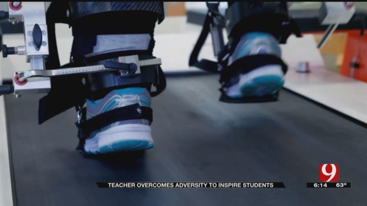 Oklahoma Teacher Overcomes Adversity To Inspire Students