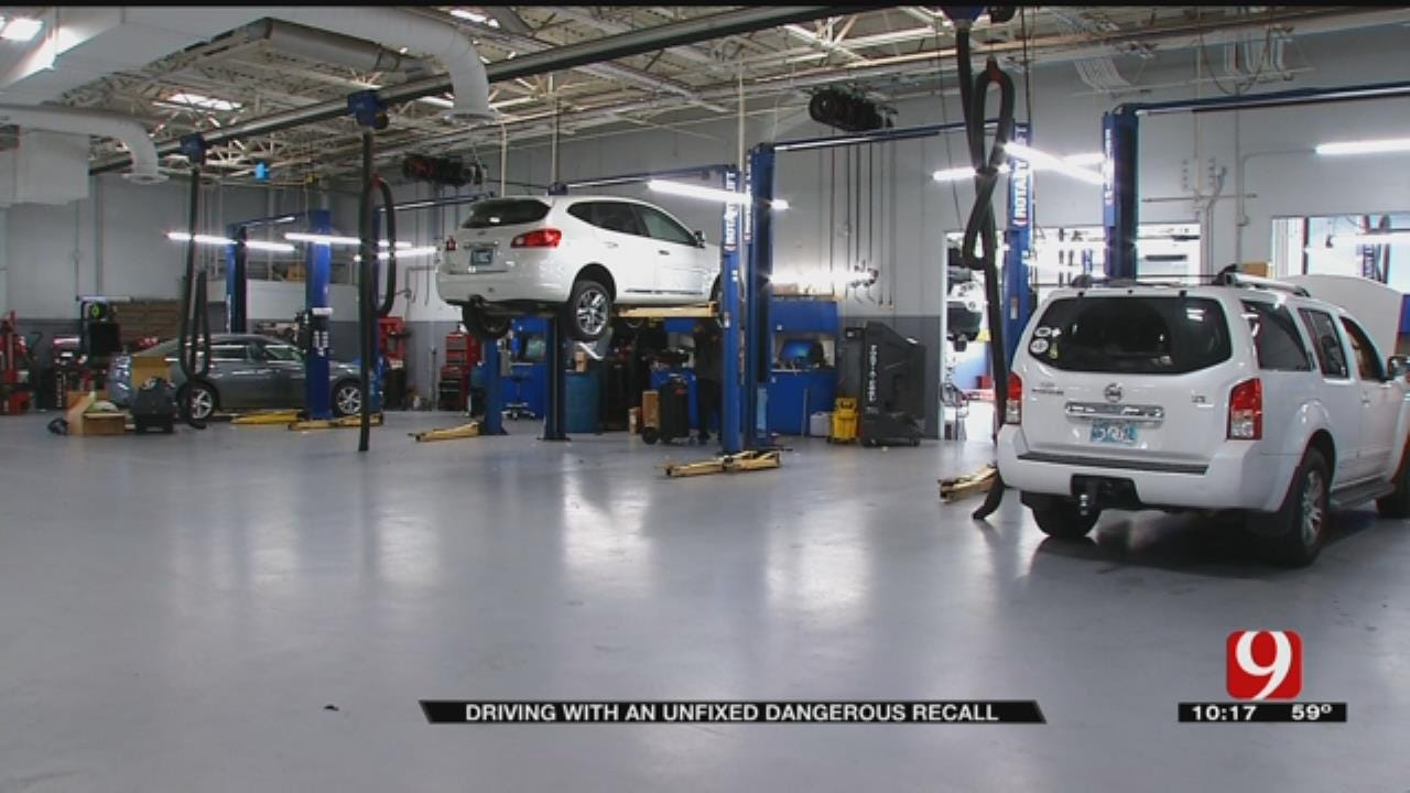 One In Four Cars On Oklahoma roads Has Unfixed Recall