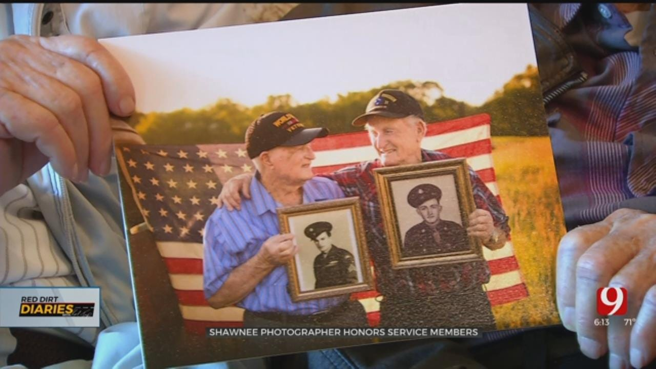 Red Dirt Diaries: Shawnee Photographer Honors Service Members