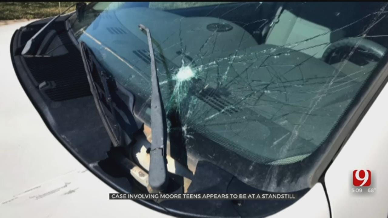 Case Of Moore Teens Recorded Throwing Beer Bottles, Rocks At Cars Remains At Standstill