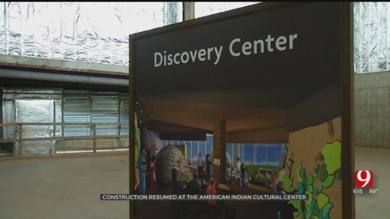 'It Has Been A Long Journey': American Indian Cultural Center Construction Resumes