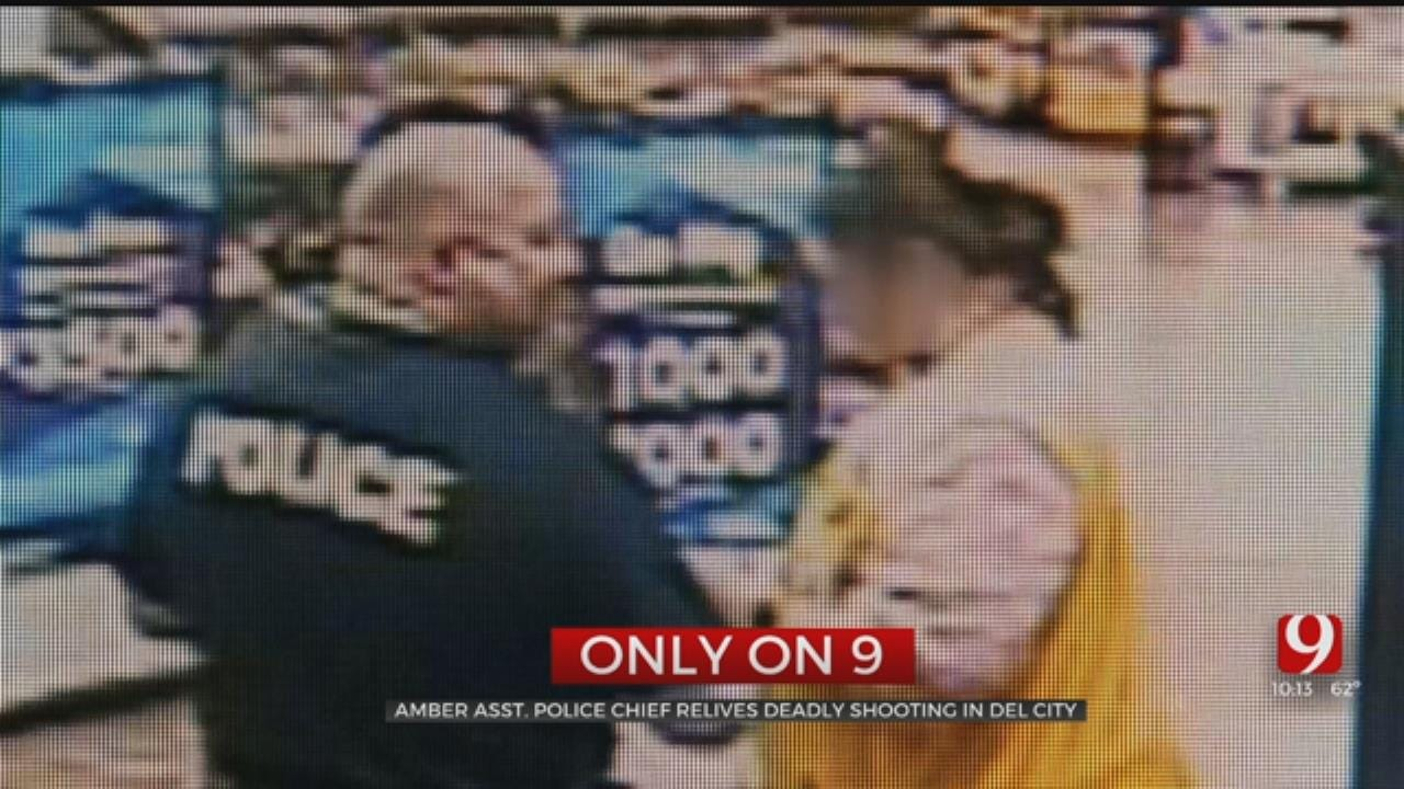 Amber Assistant Police Chief Recounts His Life-Or-Death Struggle At Del City Walmart