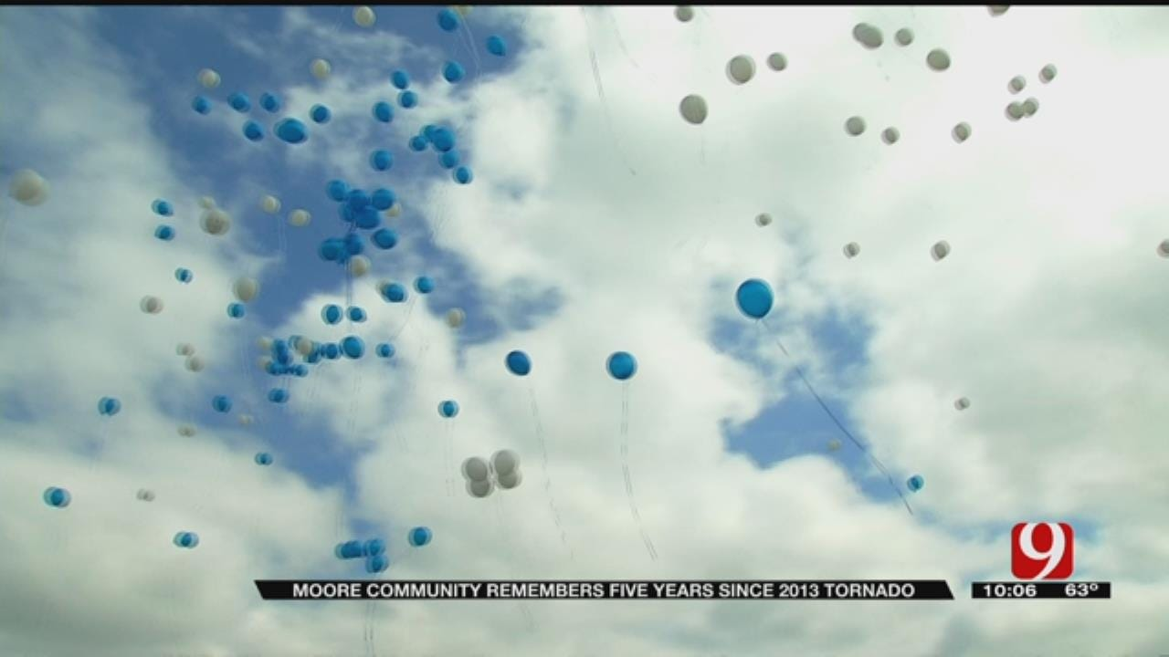 Moore Community Remembers Plaza Towers Victims 5 Years Later