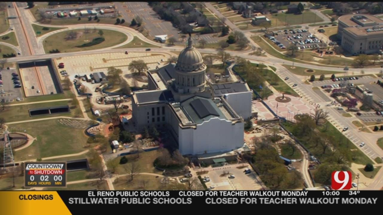 OHP Troopers Prepare for Teacher Walkout Monday