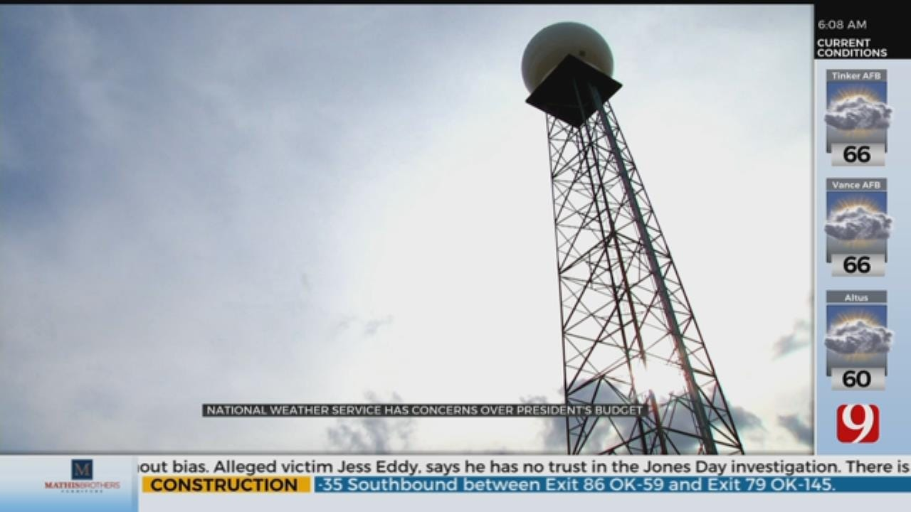 National Weather Service Has Concerns Over President's Budget