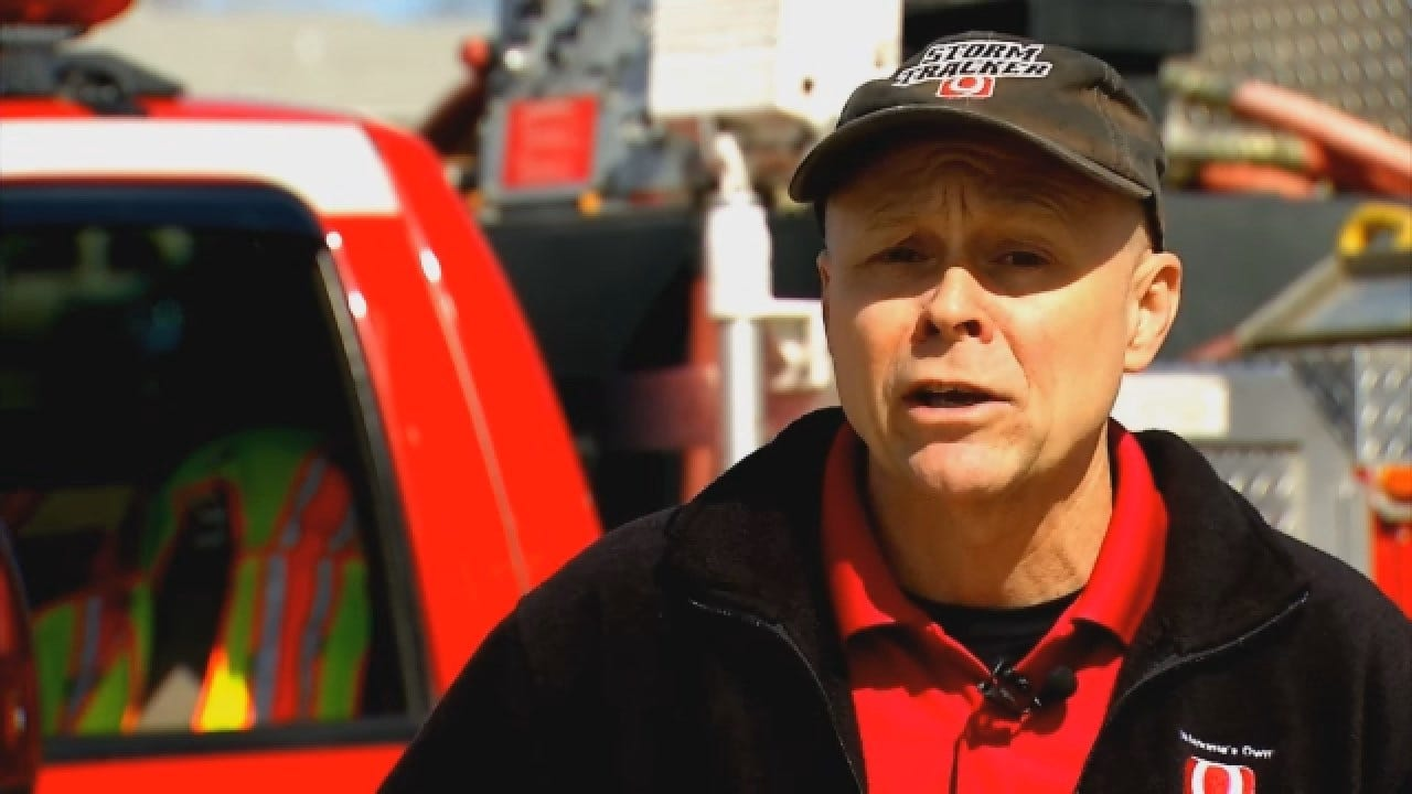 Command Center Uses News 9 StormTrackers To Help Map Oklahoma Wildfires
