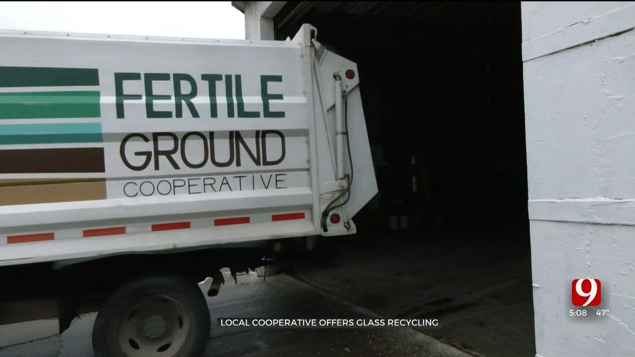 OKC Cooperative Offers Glass Recycling Program In Response To Regional Changes