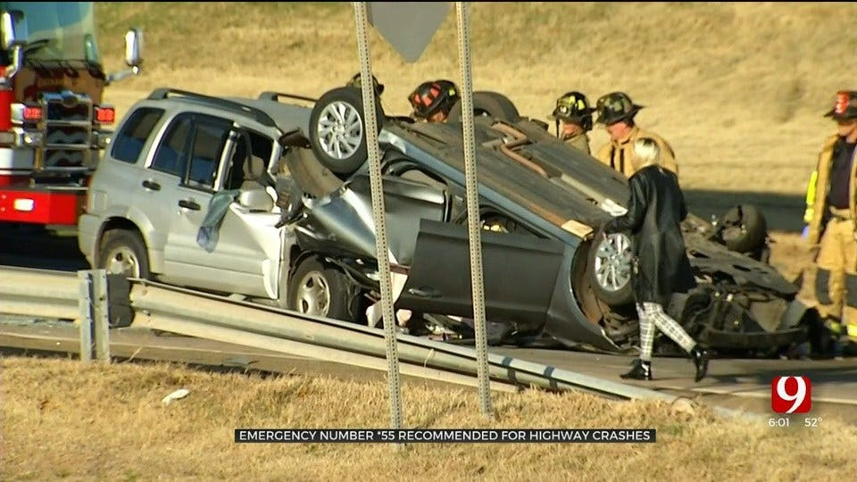 Officials Recommend Motorists Use Emergency Number For Highway Crashes