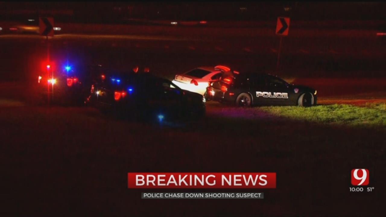 Suspect In Custody Following Pursuit In NE Oklahoma City
