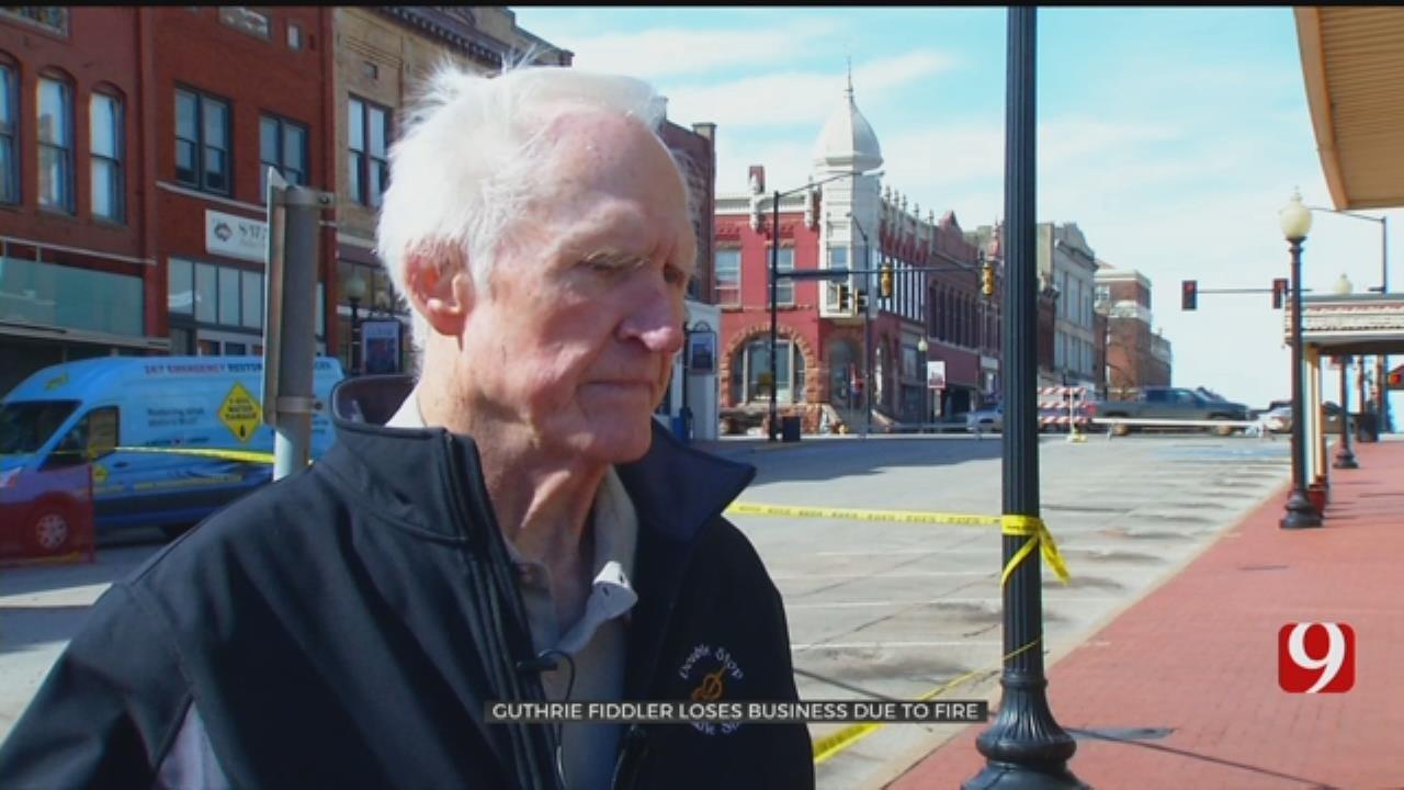 Famed Fiddler Mourns Loss Of Guthrie Shop, Priceless Instruments After Devastating Fire