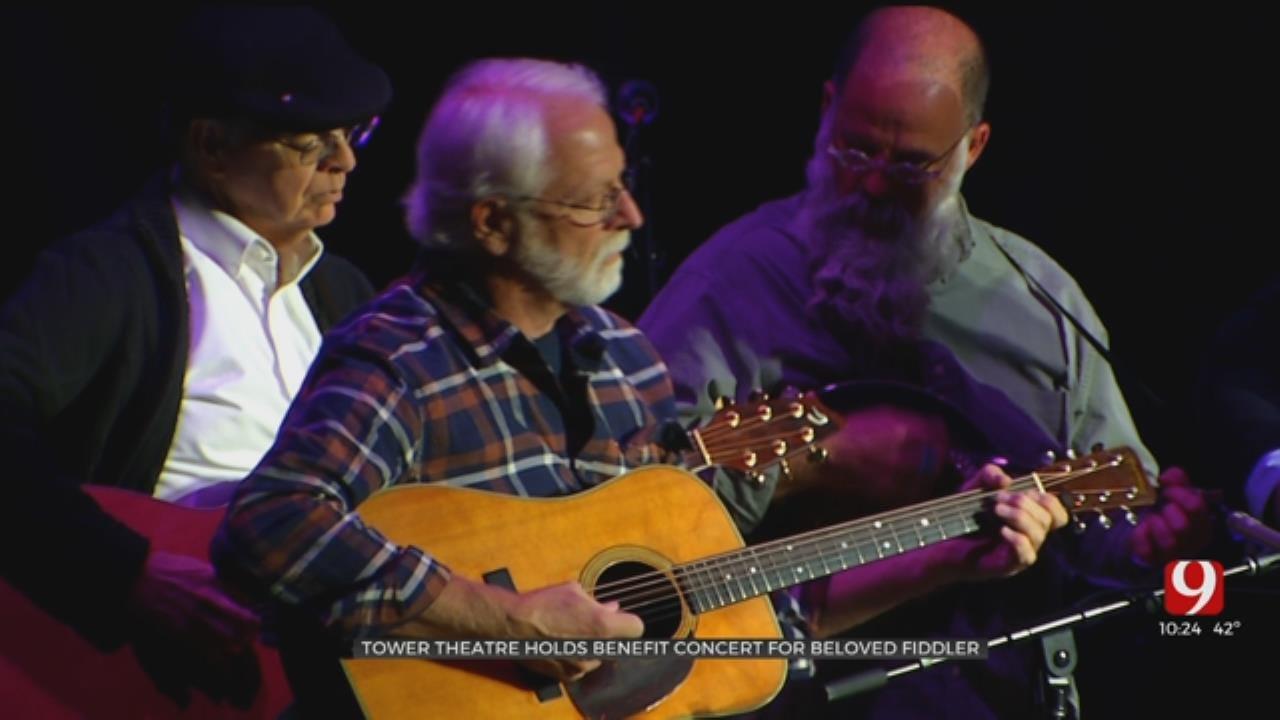 Tower Theater Holds Benefit Concert For Beloved Fiddler
