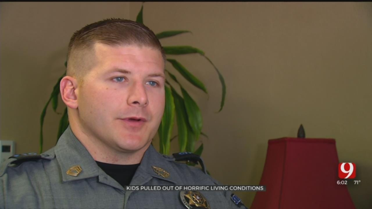 Cleveland County Deputies Rescue Children from Mobile Home Filled with Feces