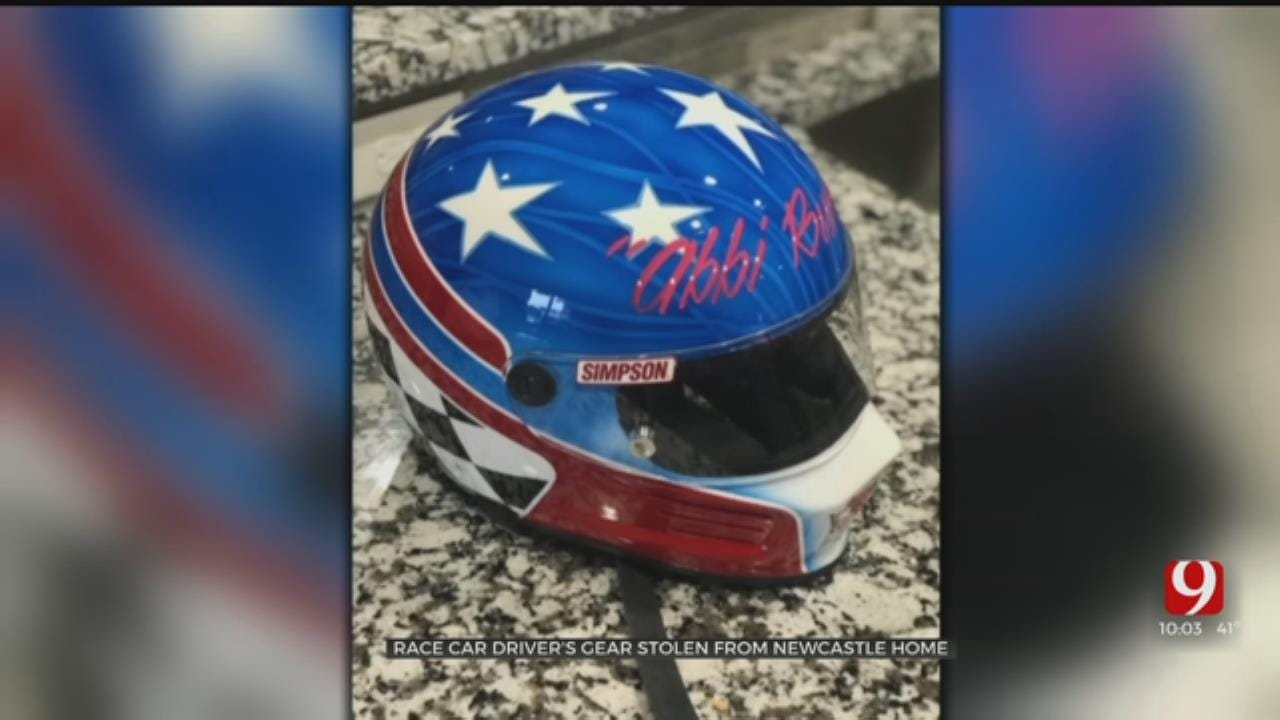 Thief Steals Newcastle Spring Car Racer's Helmet, Gear