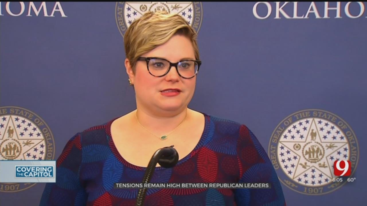 Political Tensions Between Republican Leaders Continue At State Capitol