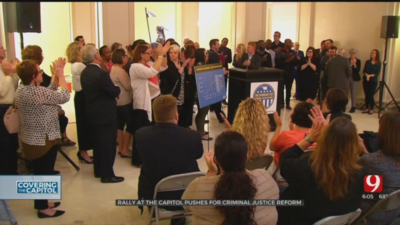 Rally For Criminal Justice Reform Held At State Capitol