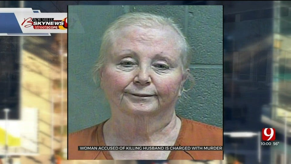 74-Year-Old Woman Accused Of Killing Husband Charged With Murder