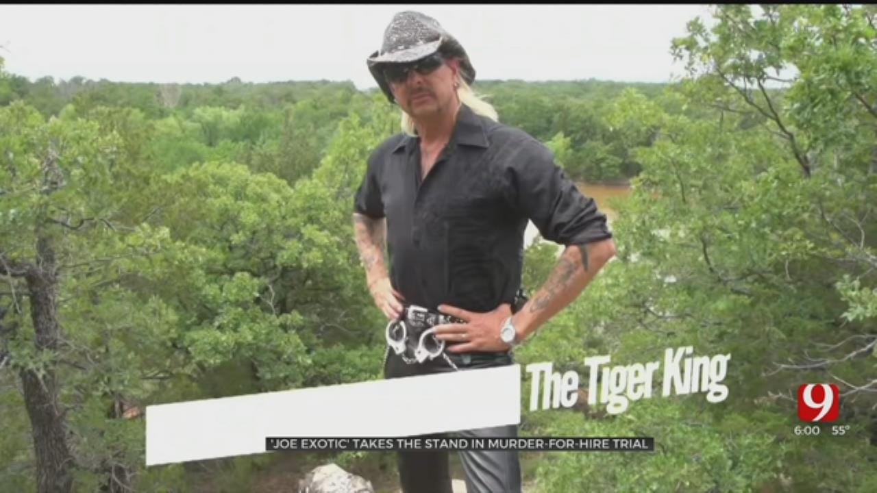Joe Exotic Takes The Stand In His Murder-For-Hire Trial