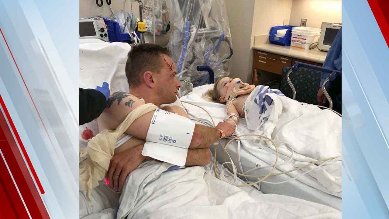Guthrie Father Returns Home After Auto-Pedestrian Crash Sent Him, 2 Young Kids To Hospital