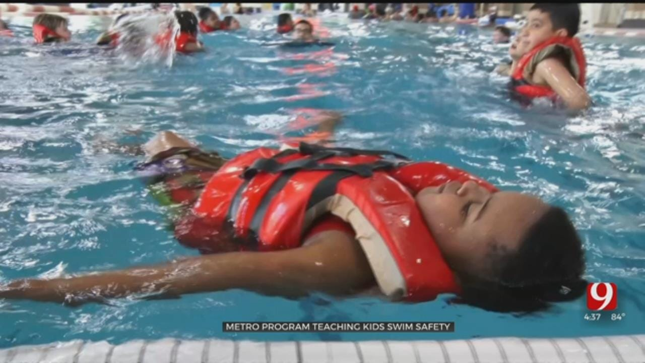 Oklahoma City Program Teaches Kids Swim Safety