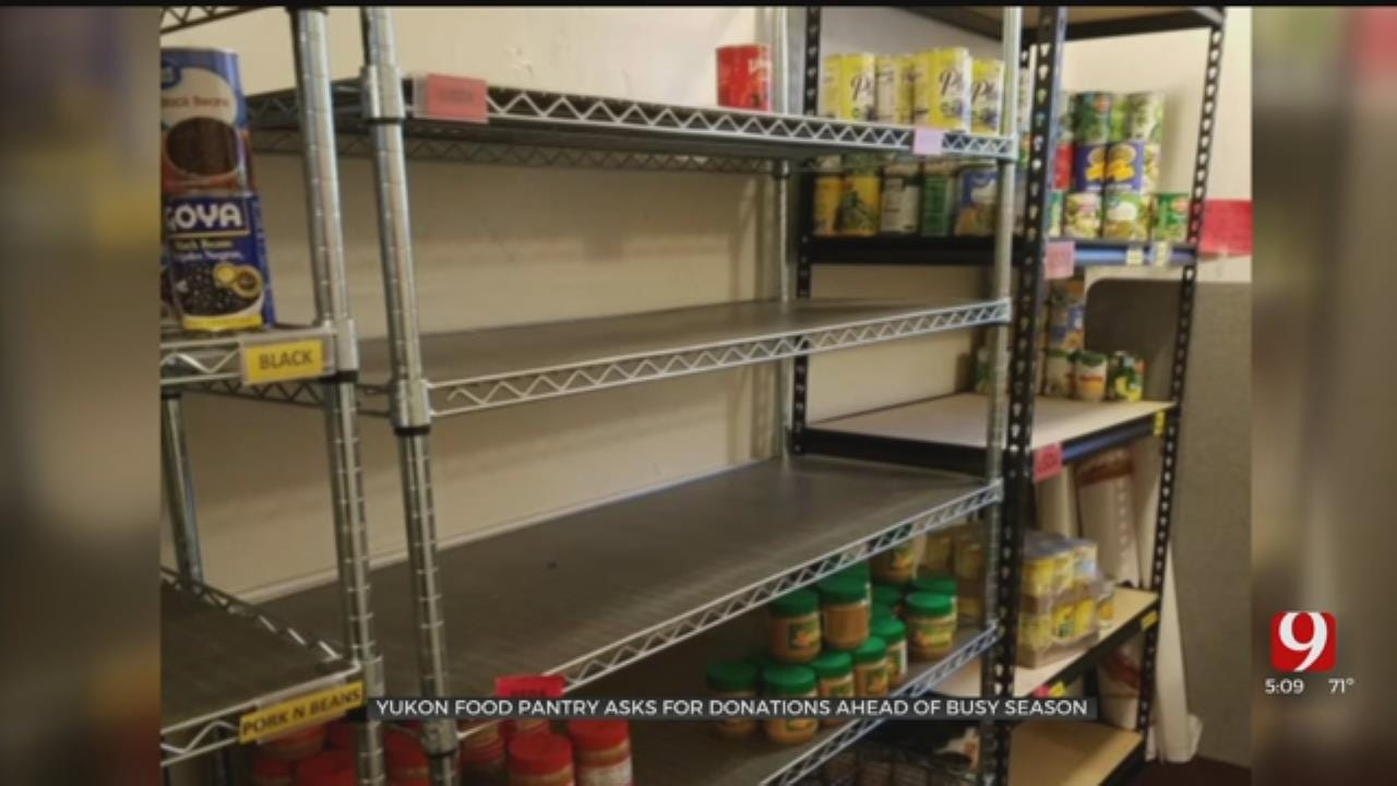 Yukon Food Pantry Desperate For Donations, New Building