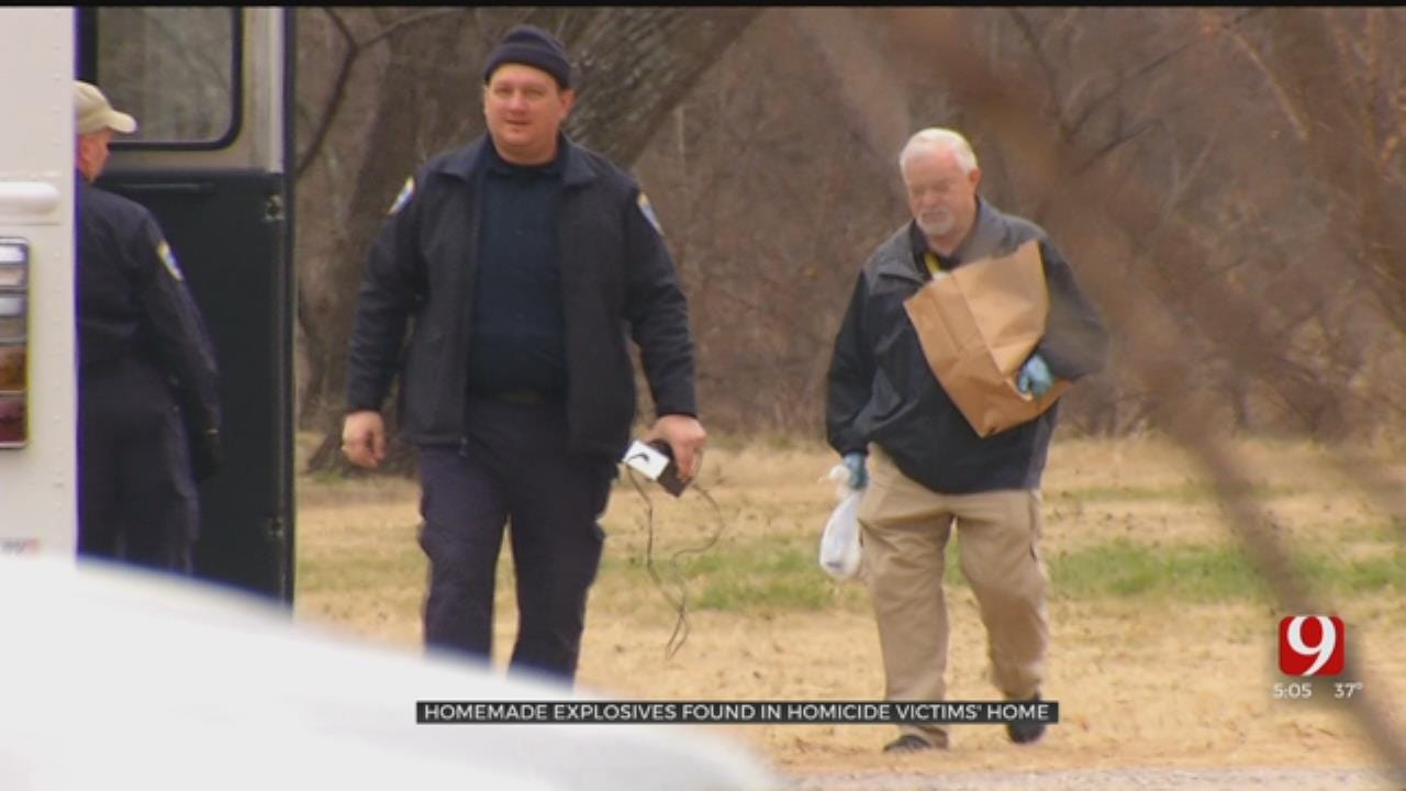 Homemade Explosive Found After Search Of Edmond Double Homicide Victims Home