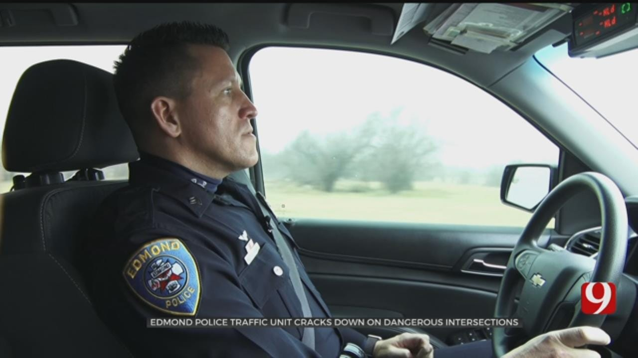 Edmond Police Traffic Unit Cracks Down On Dangerous Intersections
